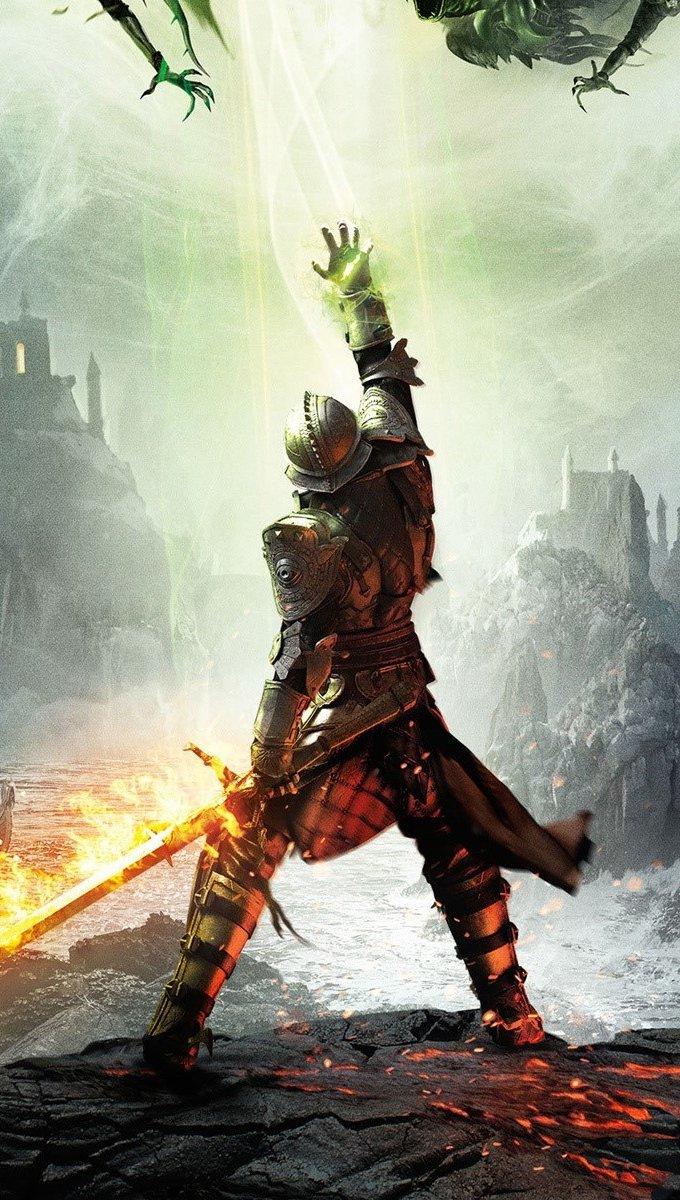 Fondos de pantalla Dragon Age Inquisition Vertical