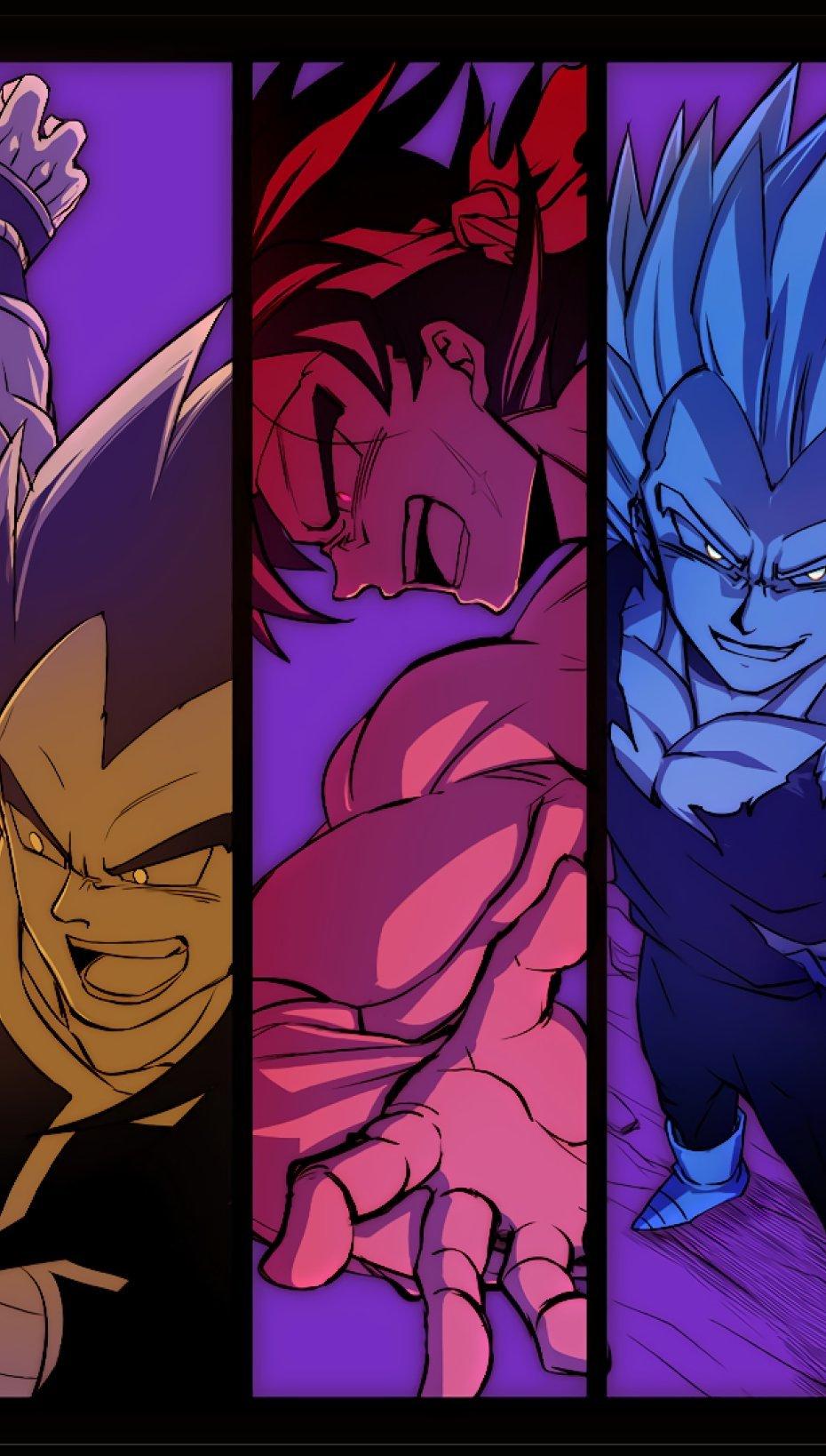 Anime Wallpaper Dragon Ball Characters Vertical