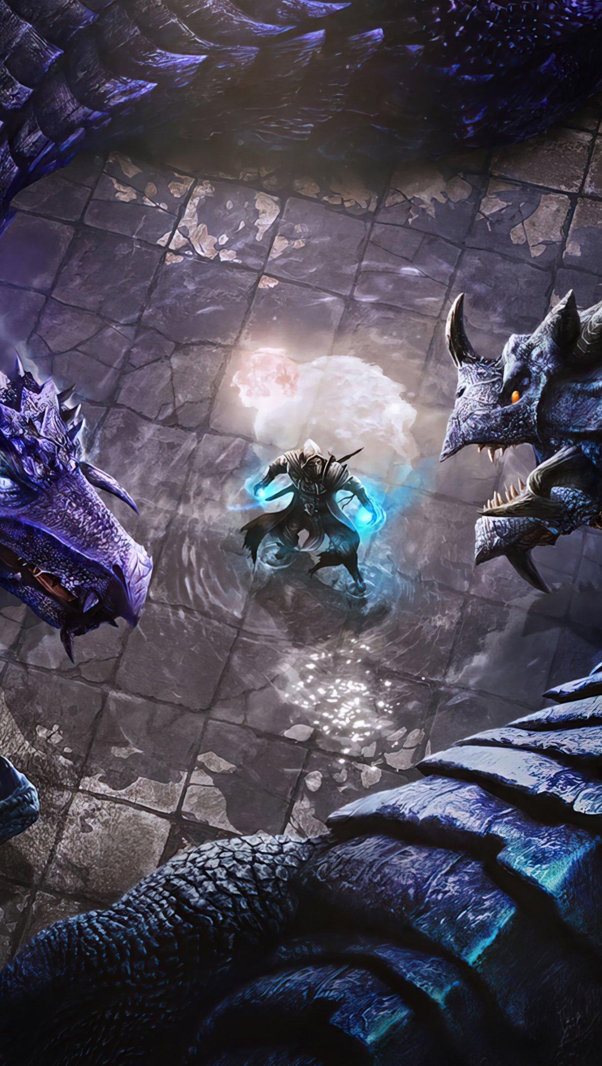 Fondos de pantalla Dragones de The Elder Scrolls Online Vertical