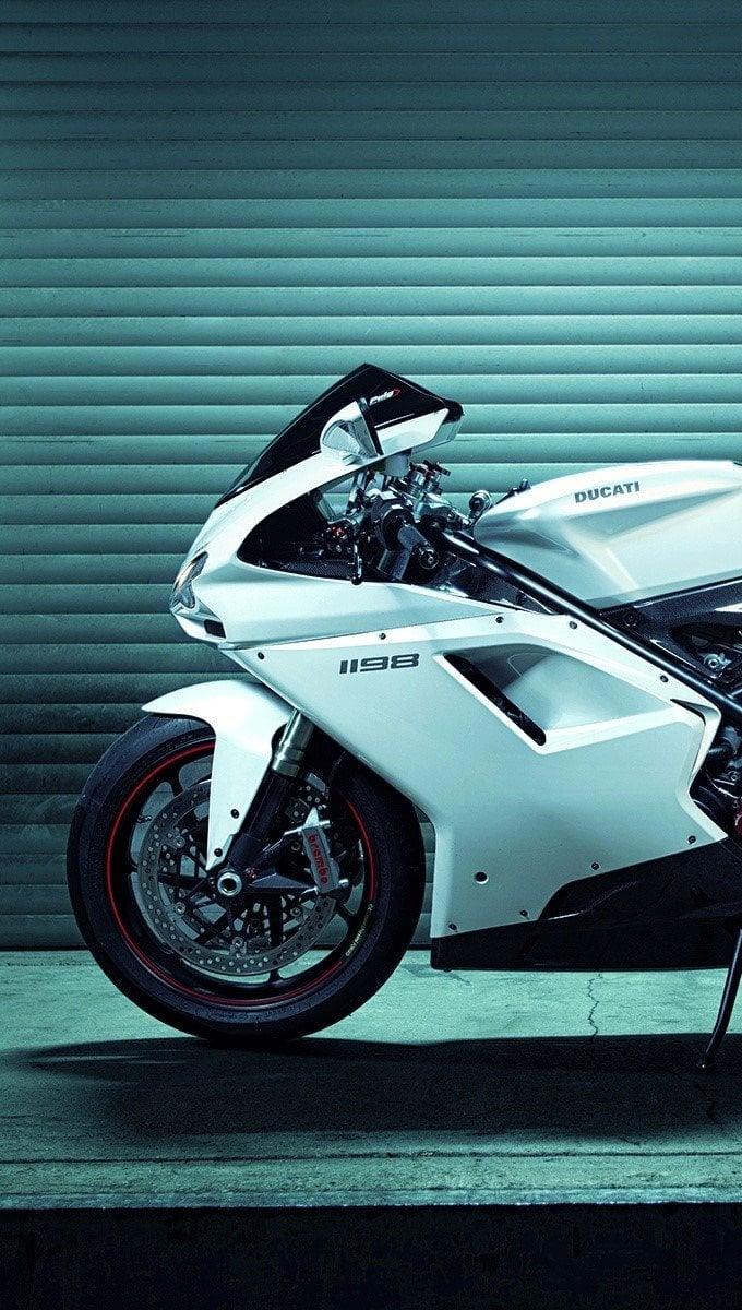 Fondos de pantalla Ducati 1198 Superbike Vertical