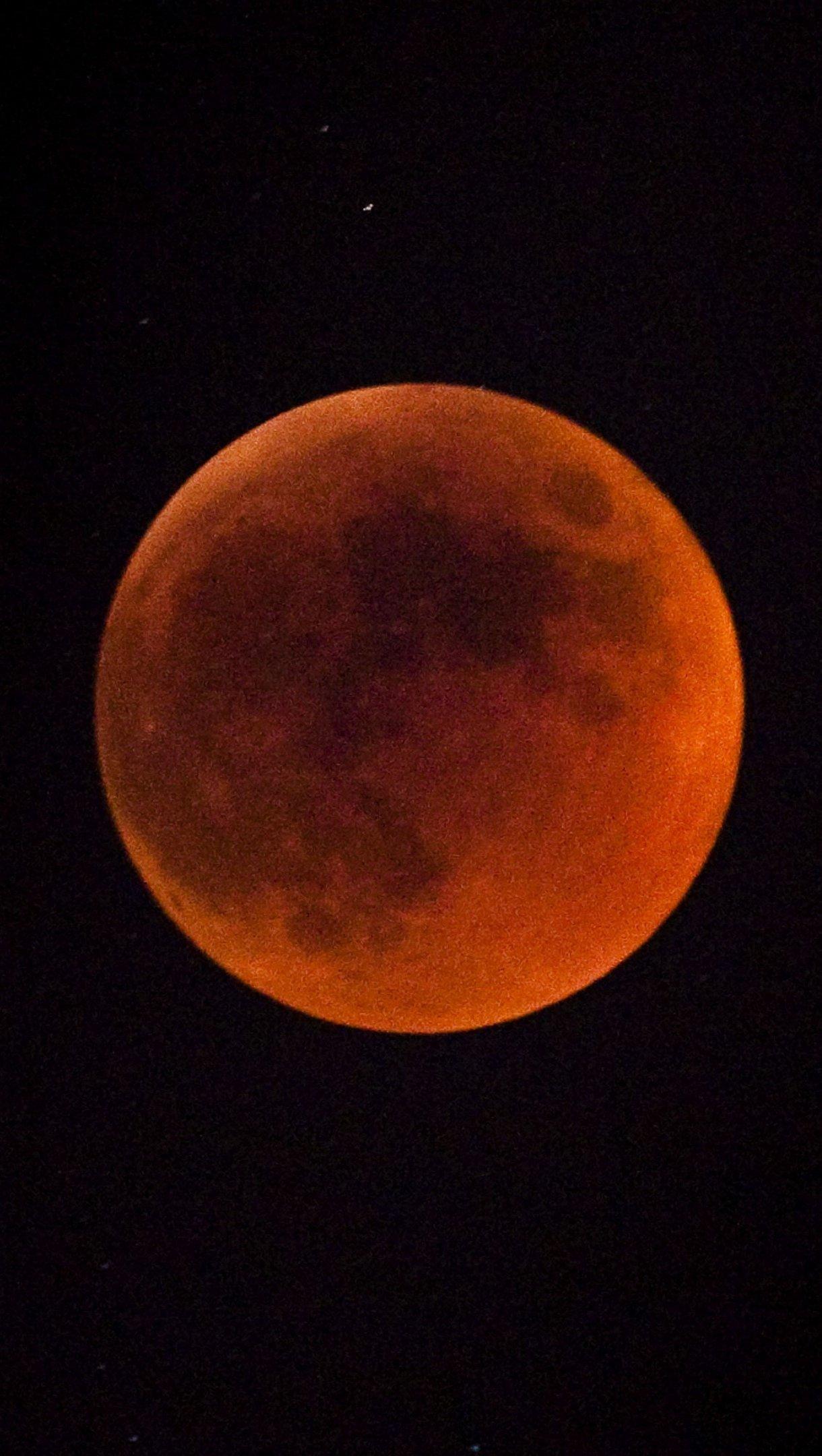 Fondos de pantalla Eclipse lunar Vertical