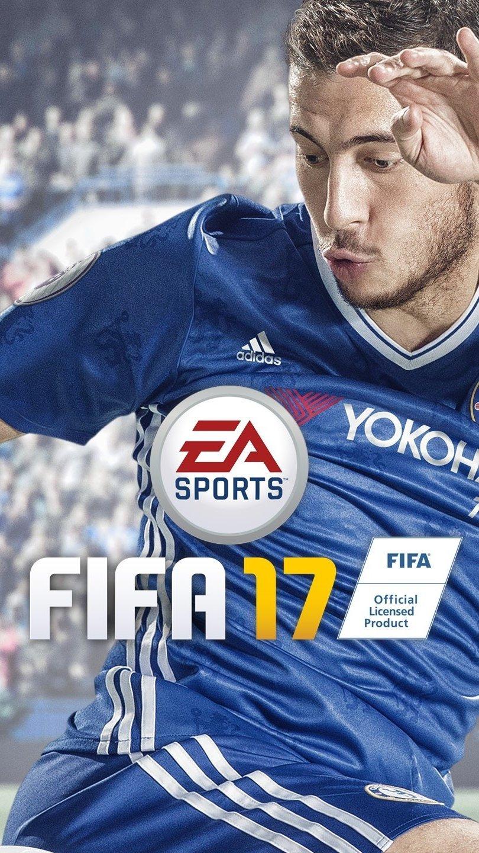 Fondos de pantalla Eden Hazard en Fifa 17 Vertical