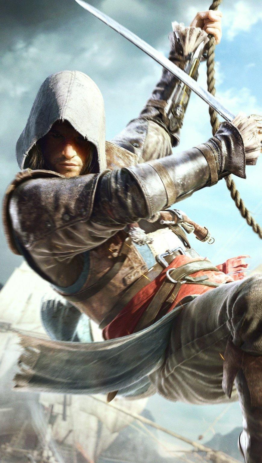 Fondos de pantalla Edward kenway en Assassins Creed 4 Vertical