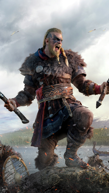 Fondos de pantalla Eivor de Assassin's Creed Valhalla Vertical