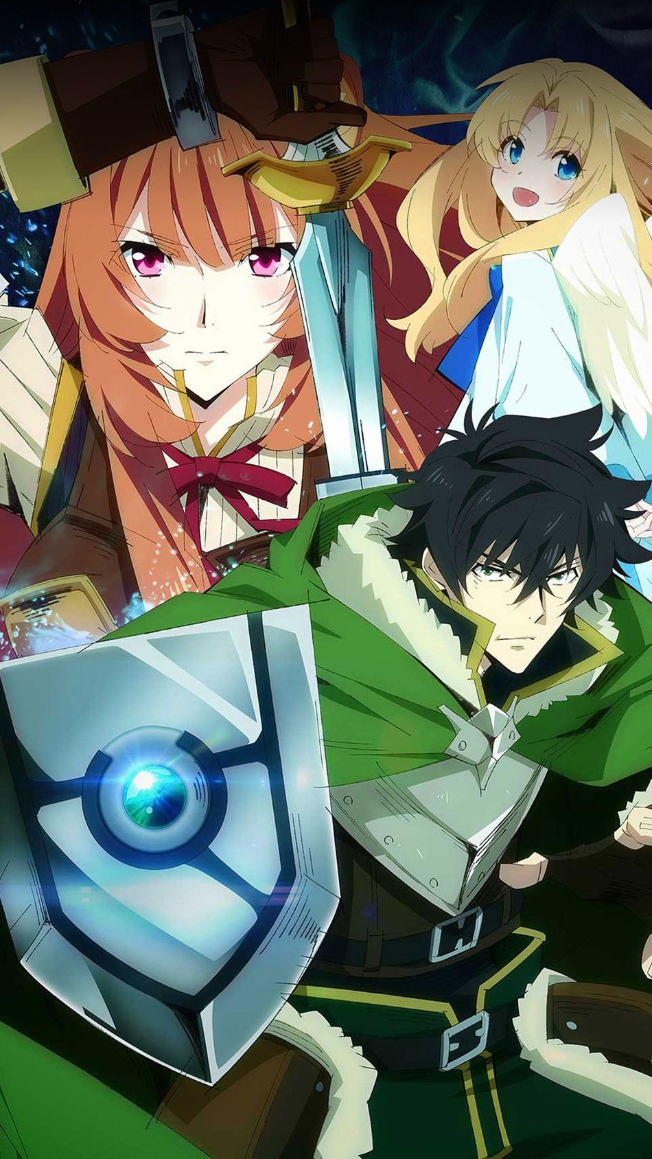 Fondos de pantalla Anime El ascenso del Heroe del Escudo Vertical