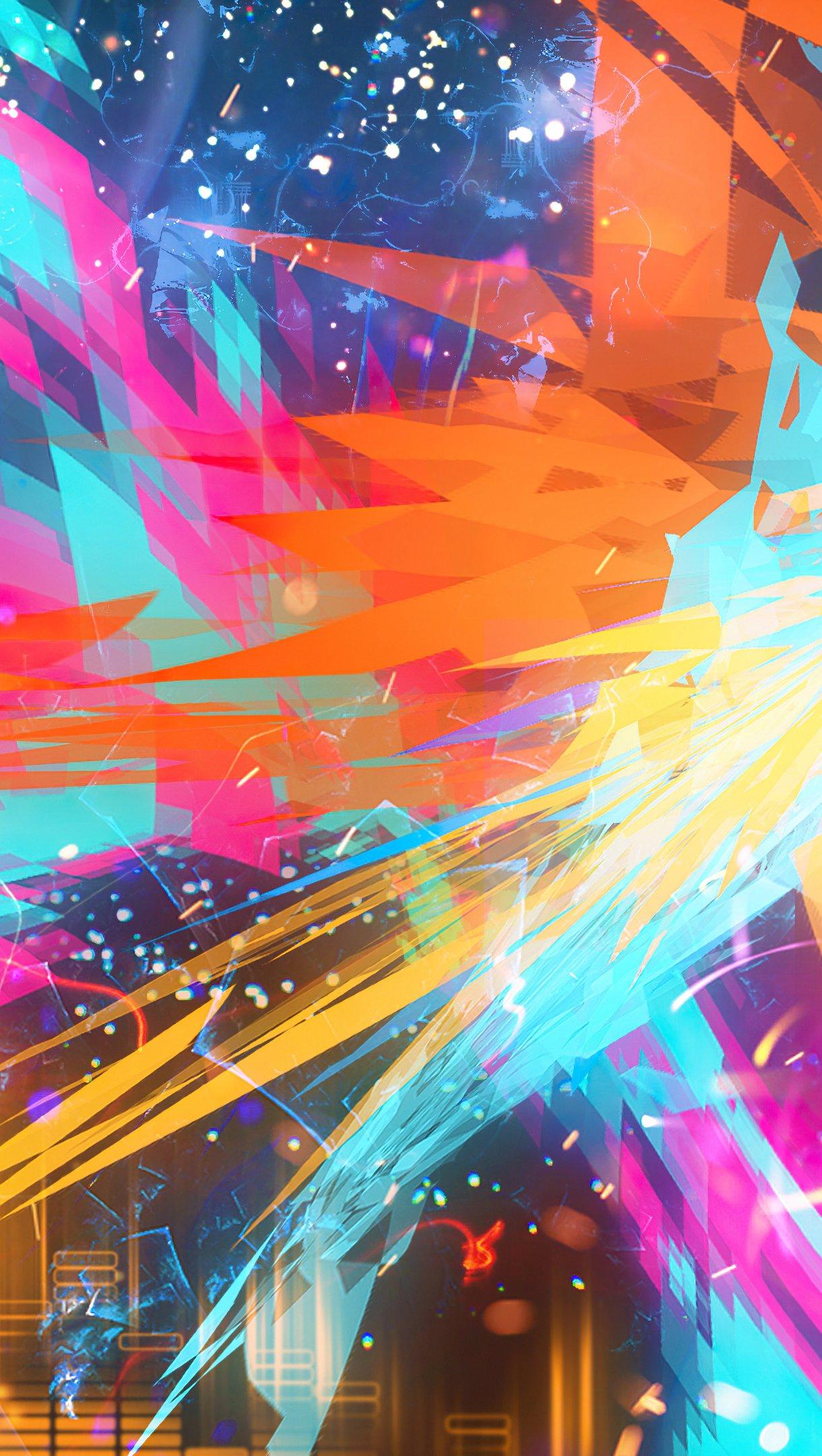 Fondos de pantalla El Atlas abstracto Vertical