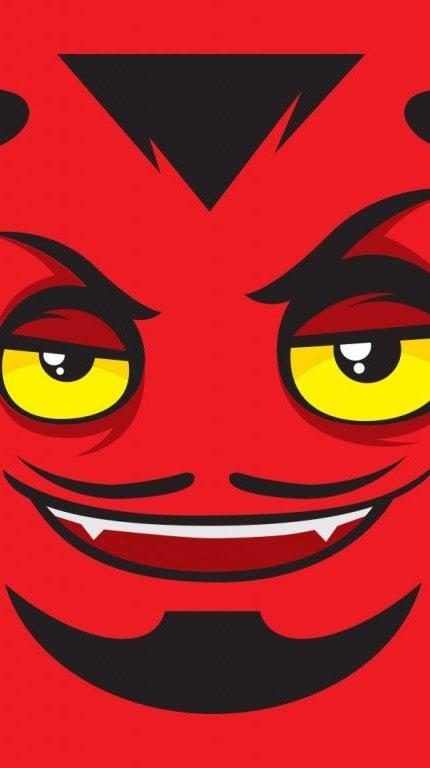 Fondos de pantalla El diablo en halloween Vertical