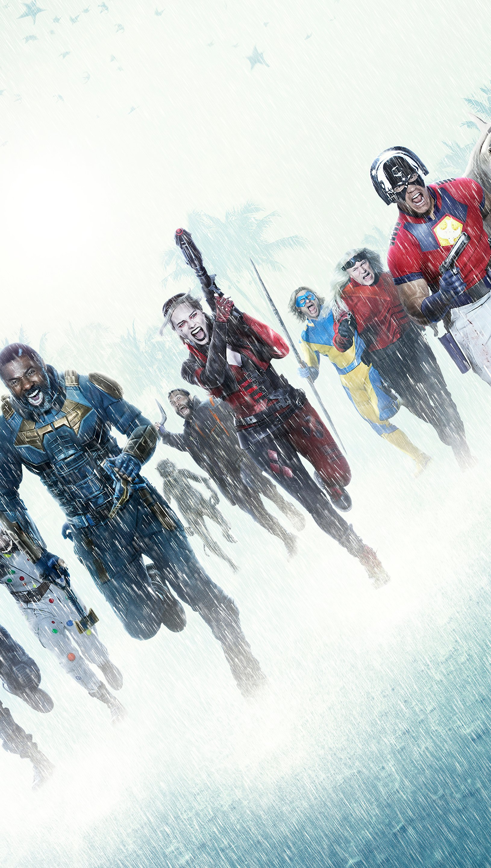 Wallpaper The Suicide Squad Vertical