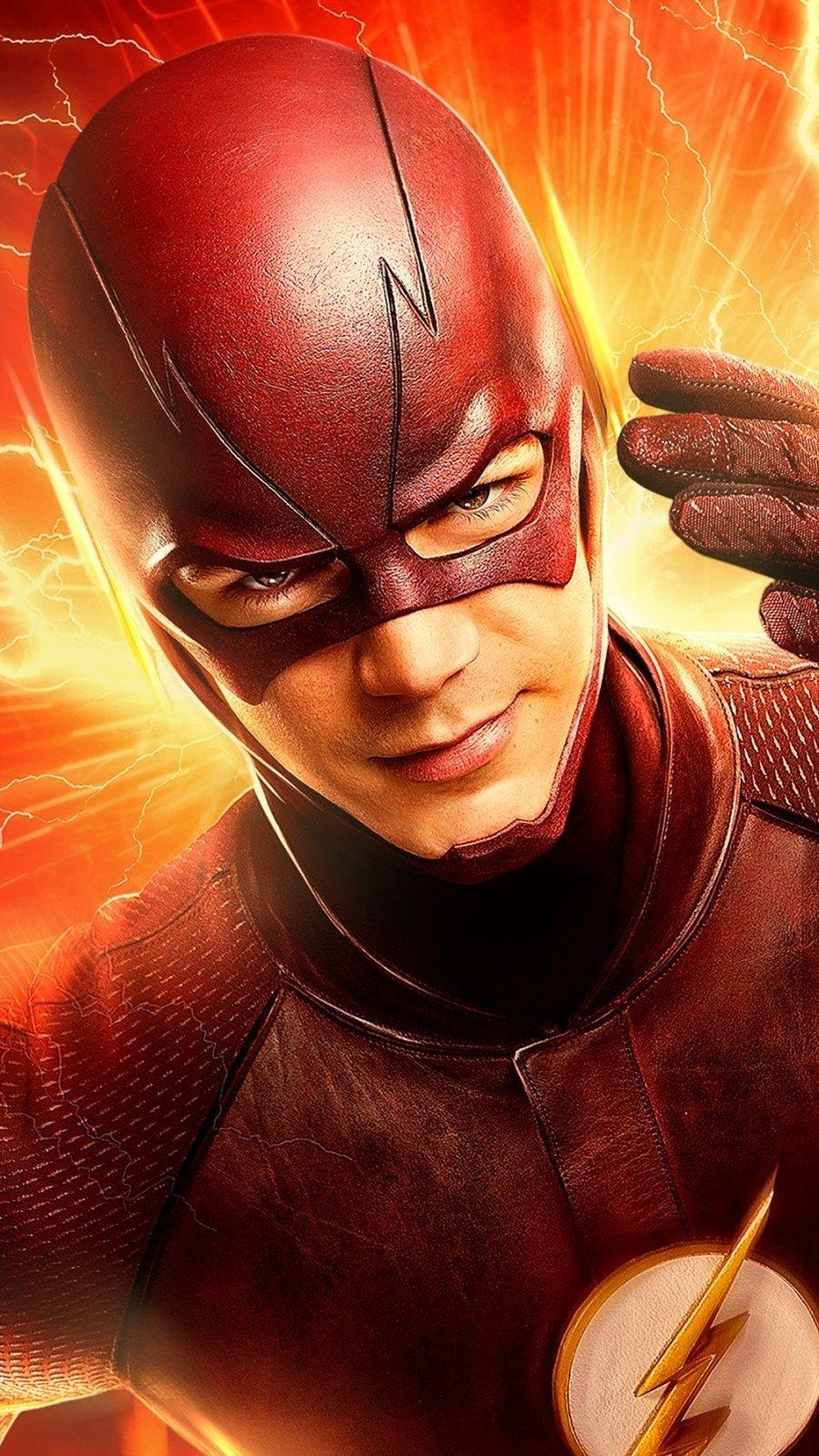 Fondos de pantalla El Flash de DC comics Vertical