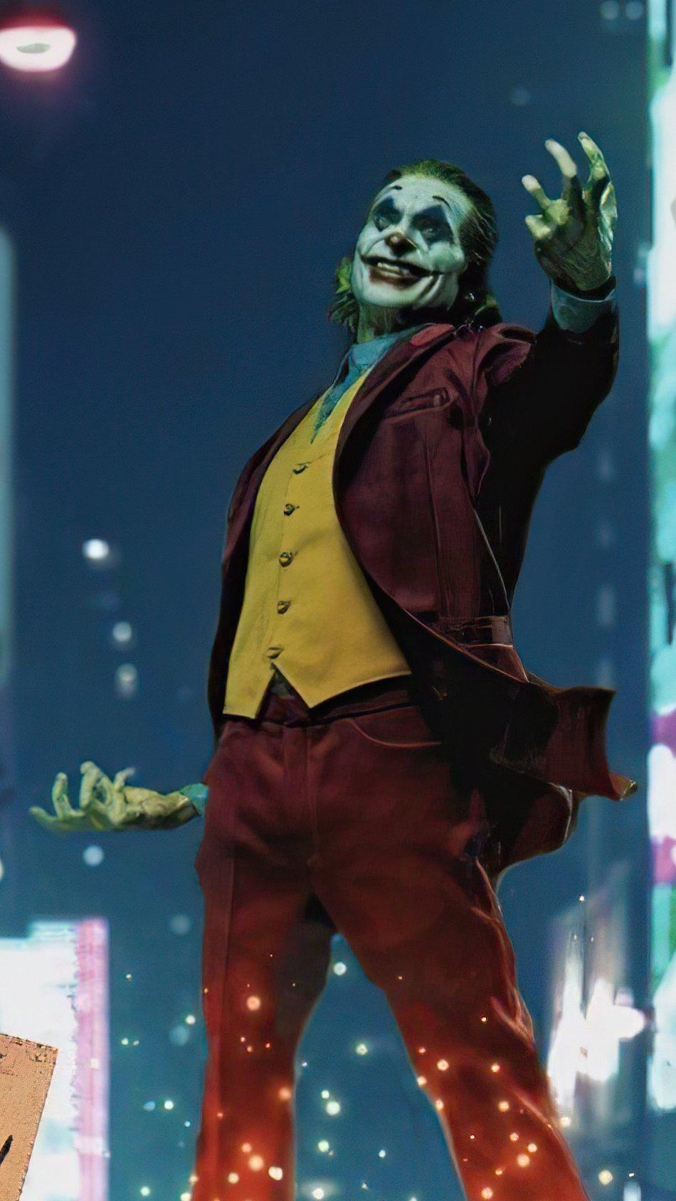 Wallpaper Joker in city Vertical