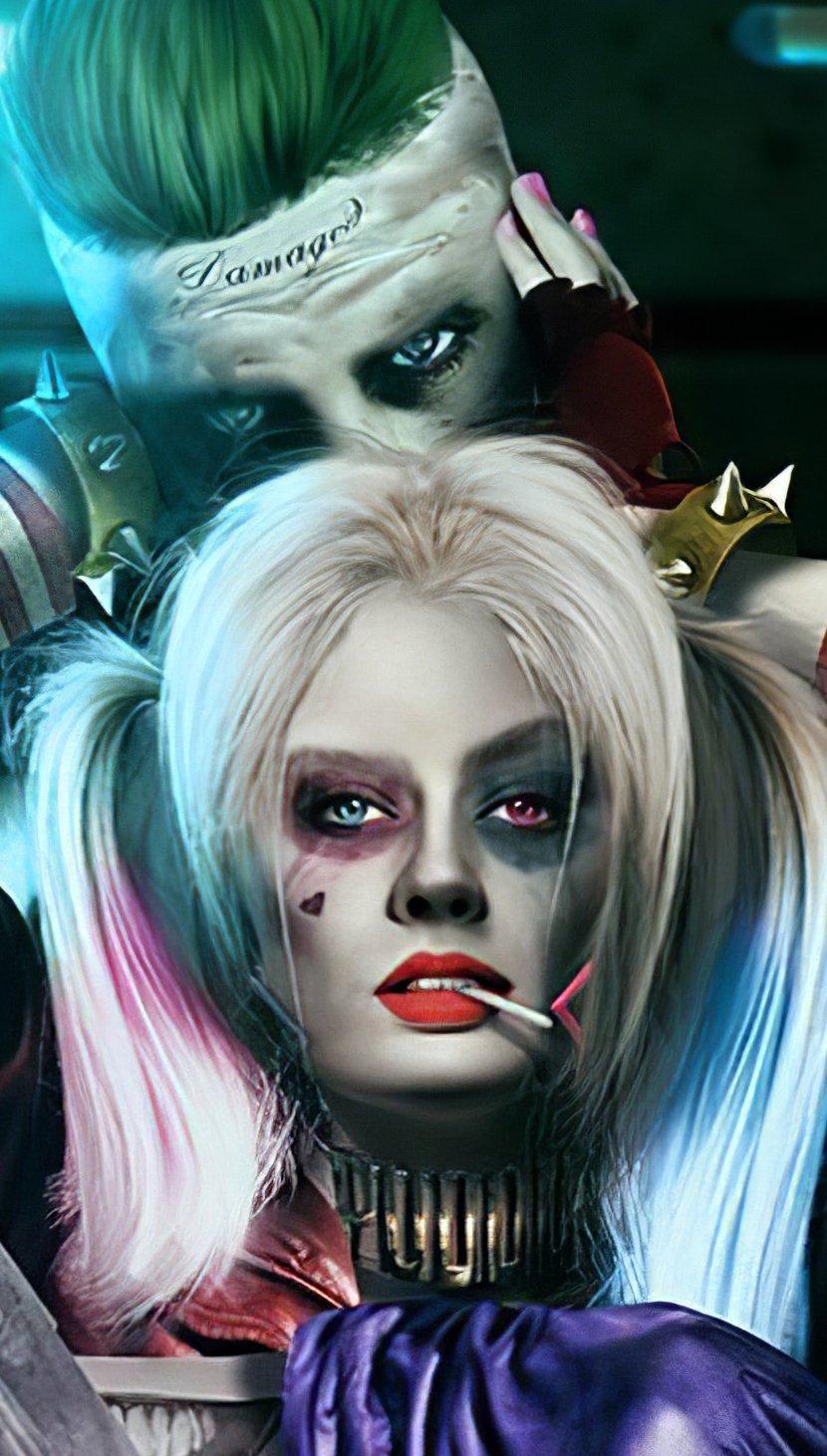 Wallpaper Joker and Harley Quinn Fanart Vertical