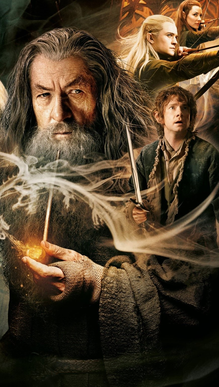 Wallpaper The hobbit 2 Vertical