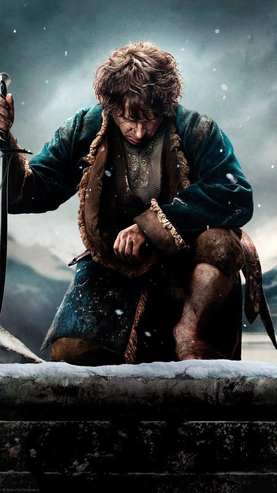 Fondos de pantalla El hobbit 3 Vertical
