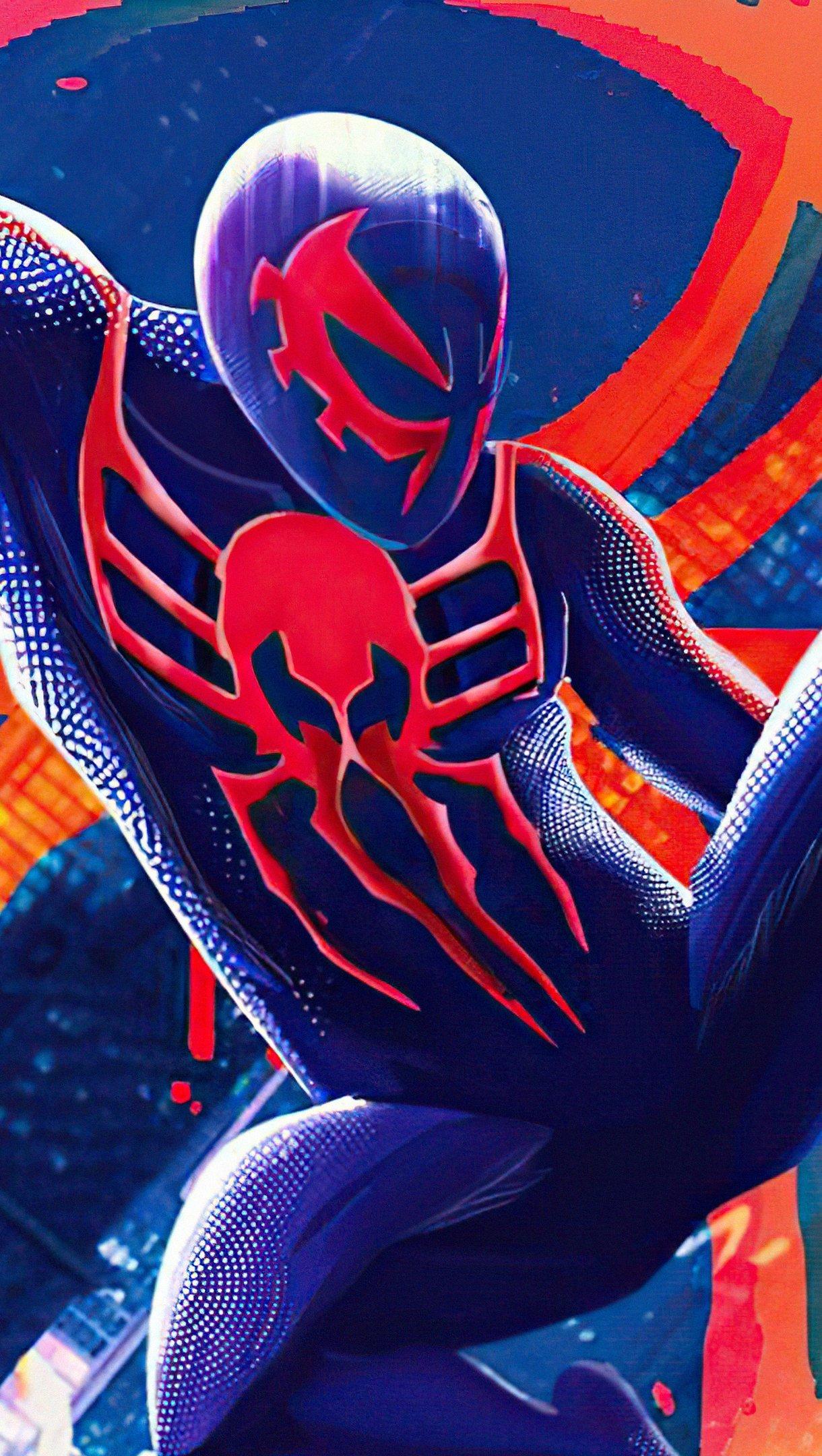 Fondos de pantalla El hombre araña 2099 en el multiverso Vertical