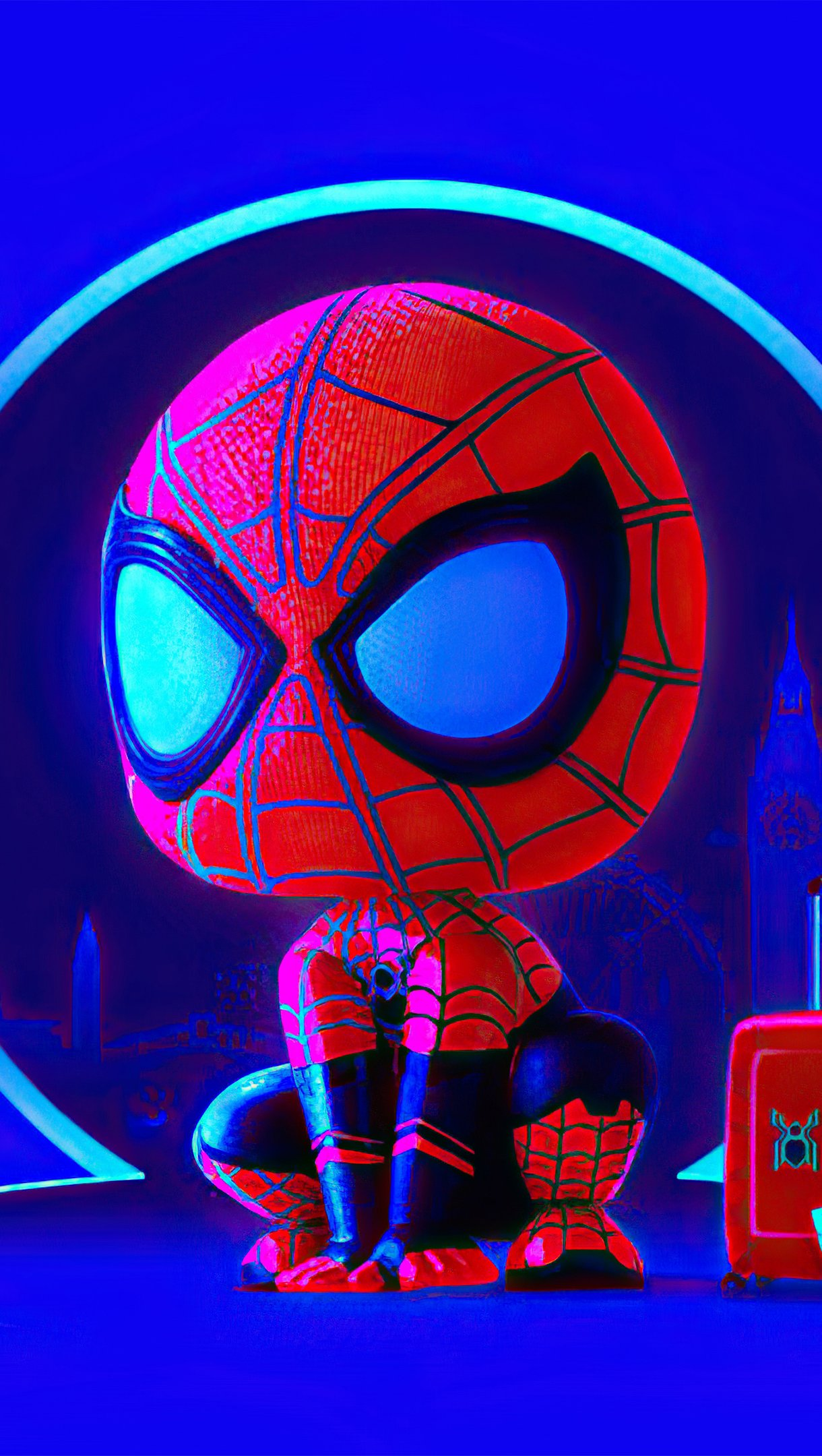 Fondos de pantalla El hombre araña Arte digital Vertical