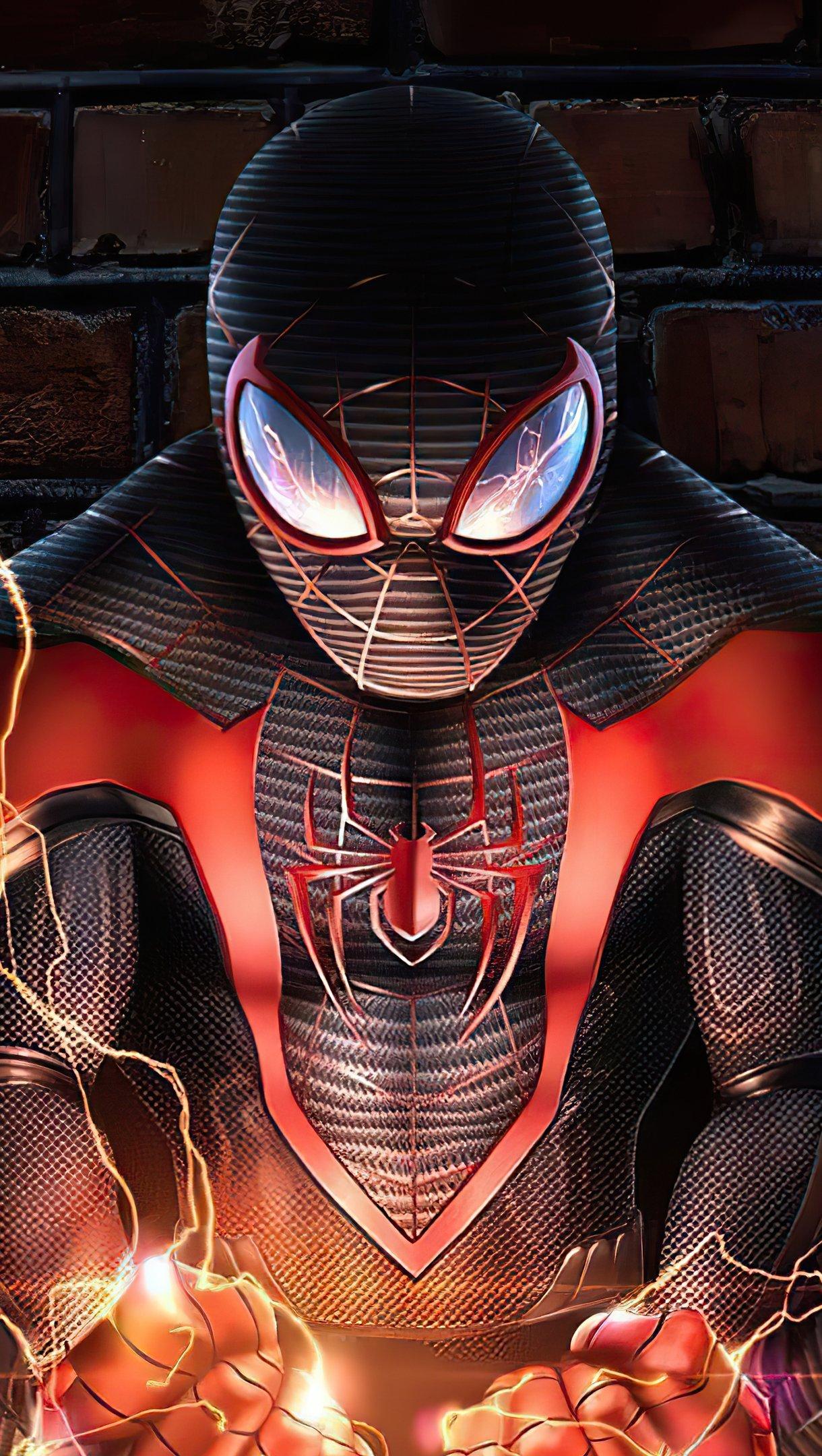 Fondos de pantalla El hombre araña Artwork Vertical