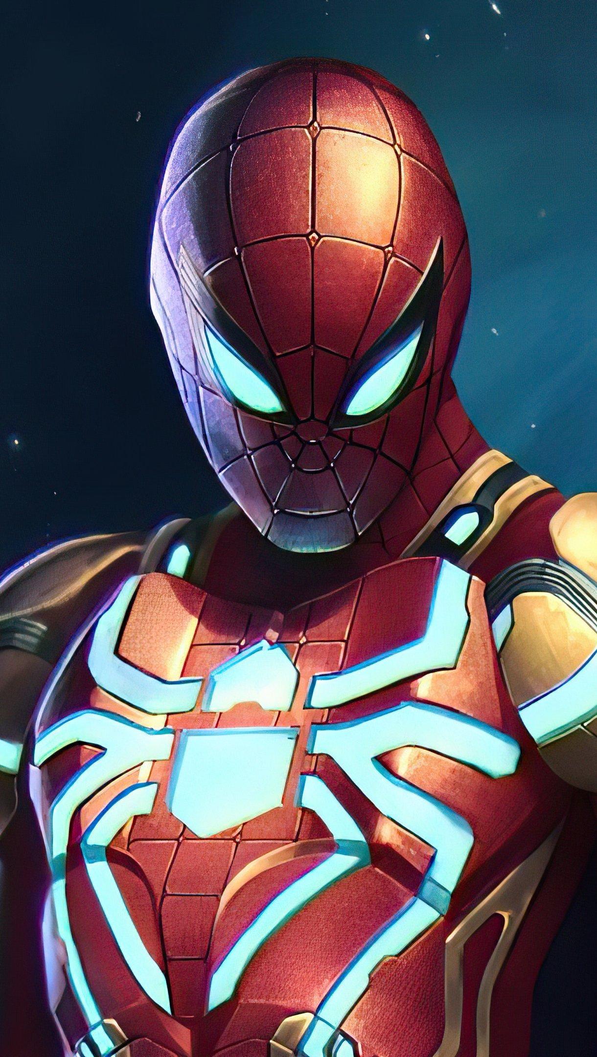 Fondos de pantalla El hombre araña con traje nuevo Vertical