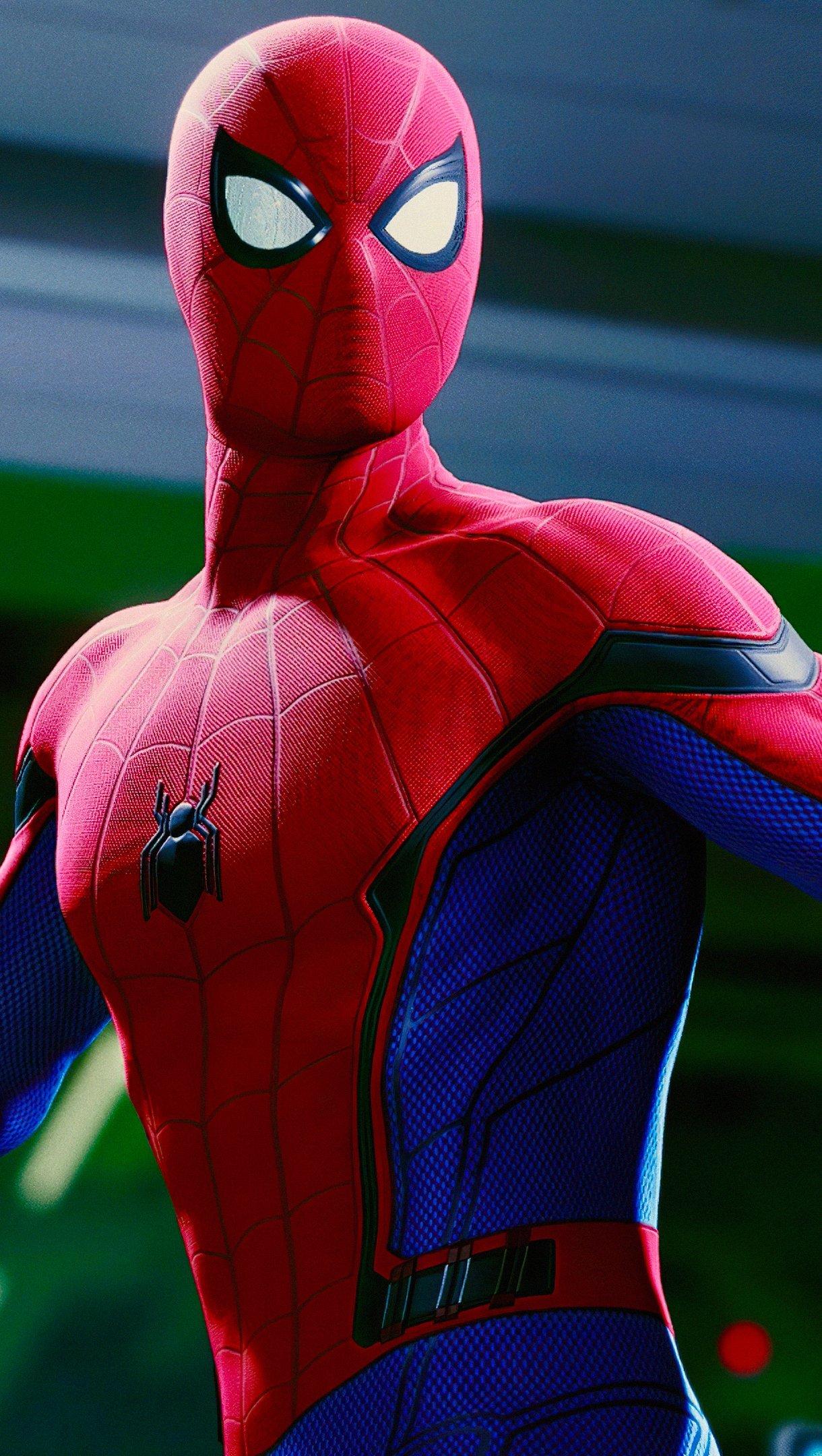 Fondos de pantalla El hombre araña: De regreso a casa Vertical