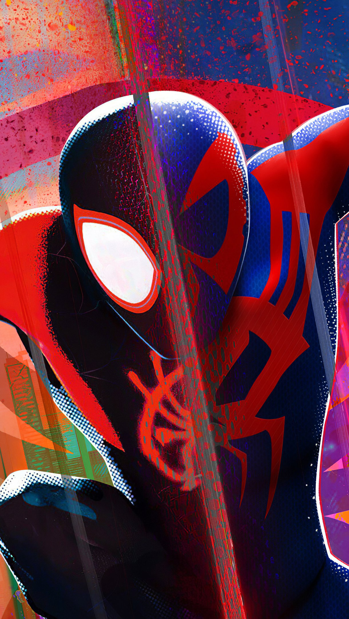 Fondos de pantalla El hombre araña Miles Morales Vertical