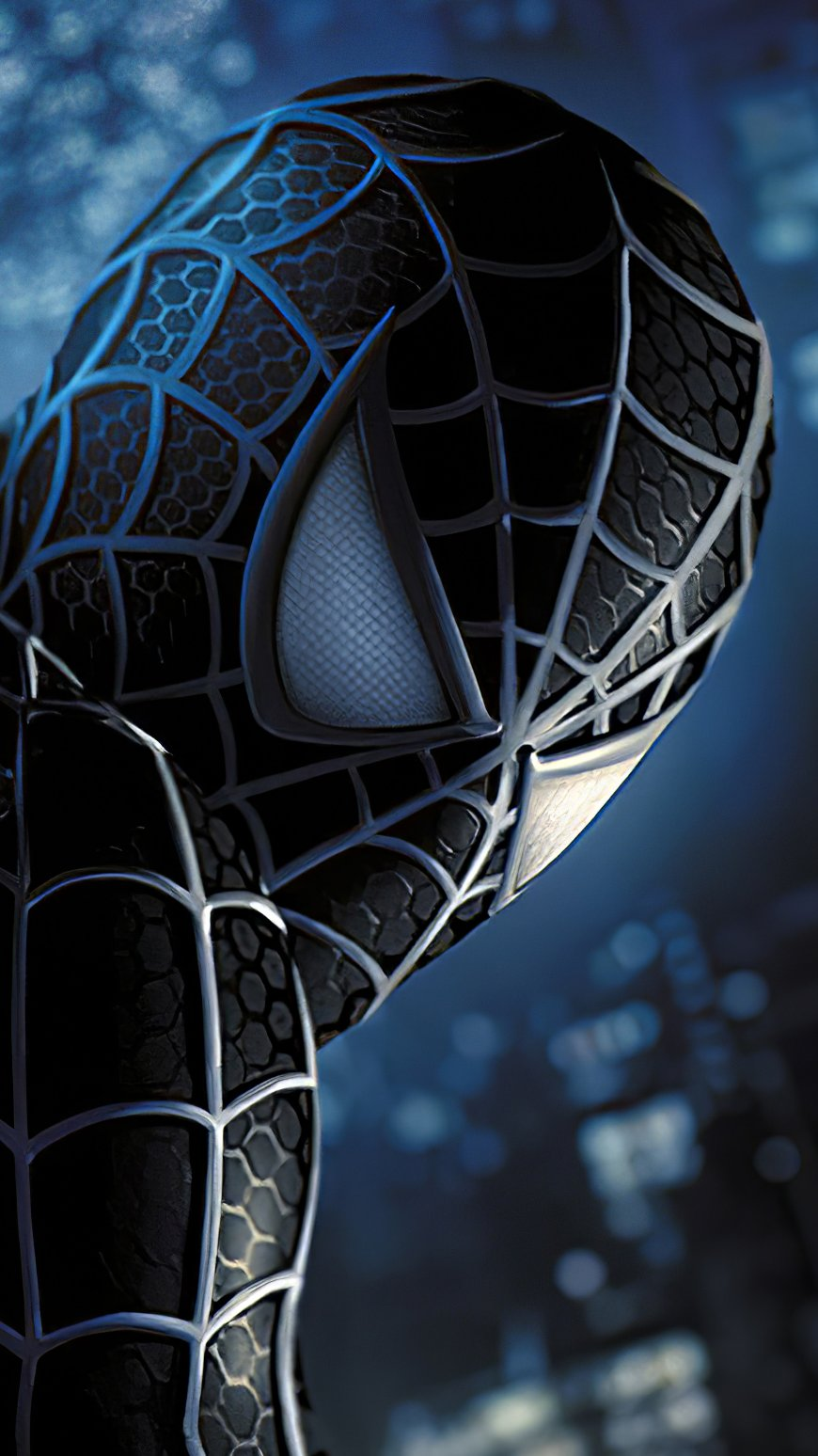 Wallpaper Black Spiderman Vertical