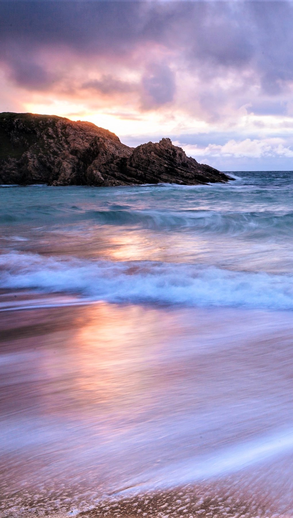 Fondos de pantalla El horizonte en la playa Vertical