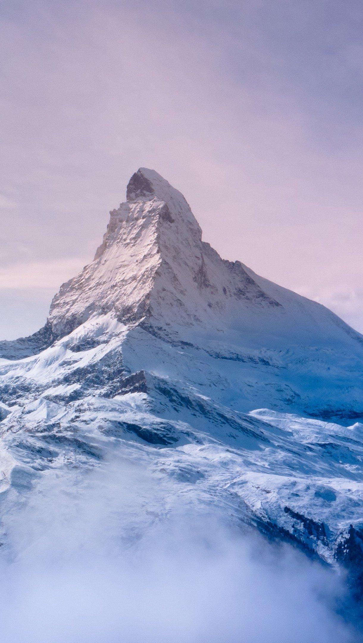 Fondos de pantalla El monte Cervino, Suiza, Zermatt Vertical