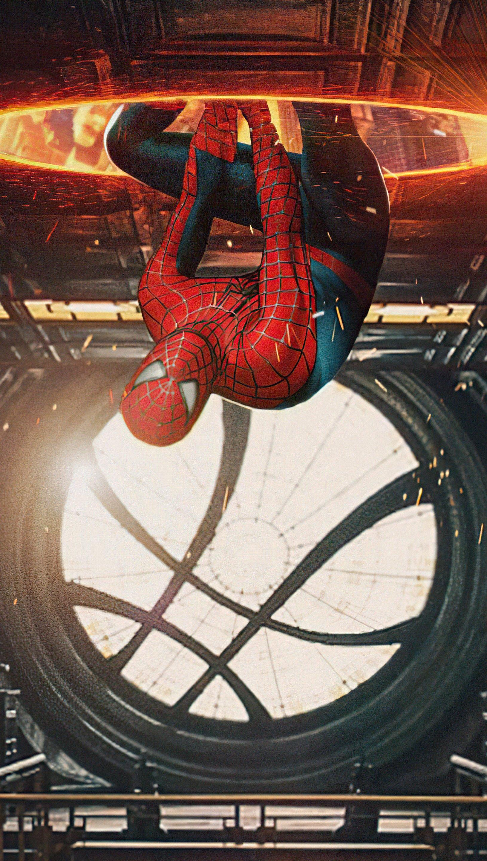Fondos de pantalla El multiverso de Spider Man Vertical