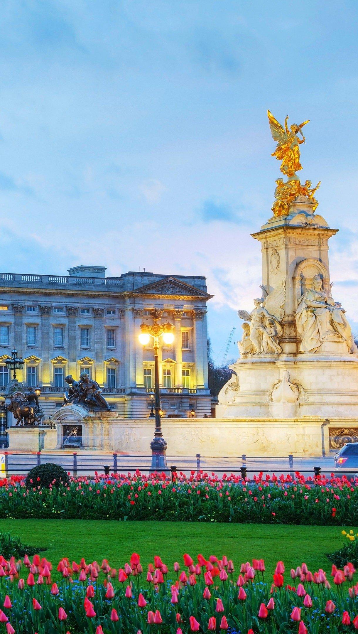 Fondos de pantalla El palacio de Buckingham Vertical