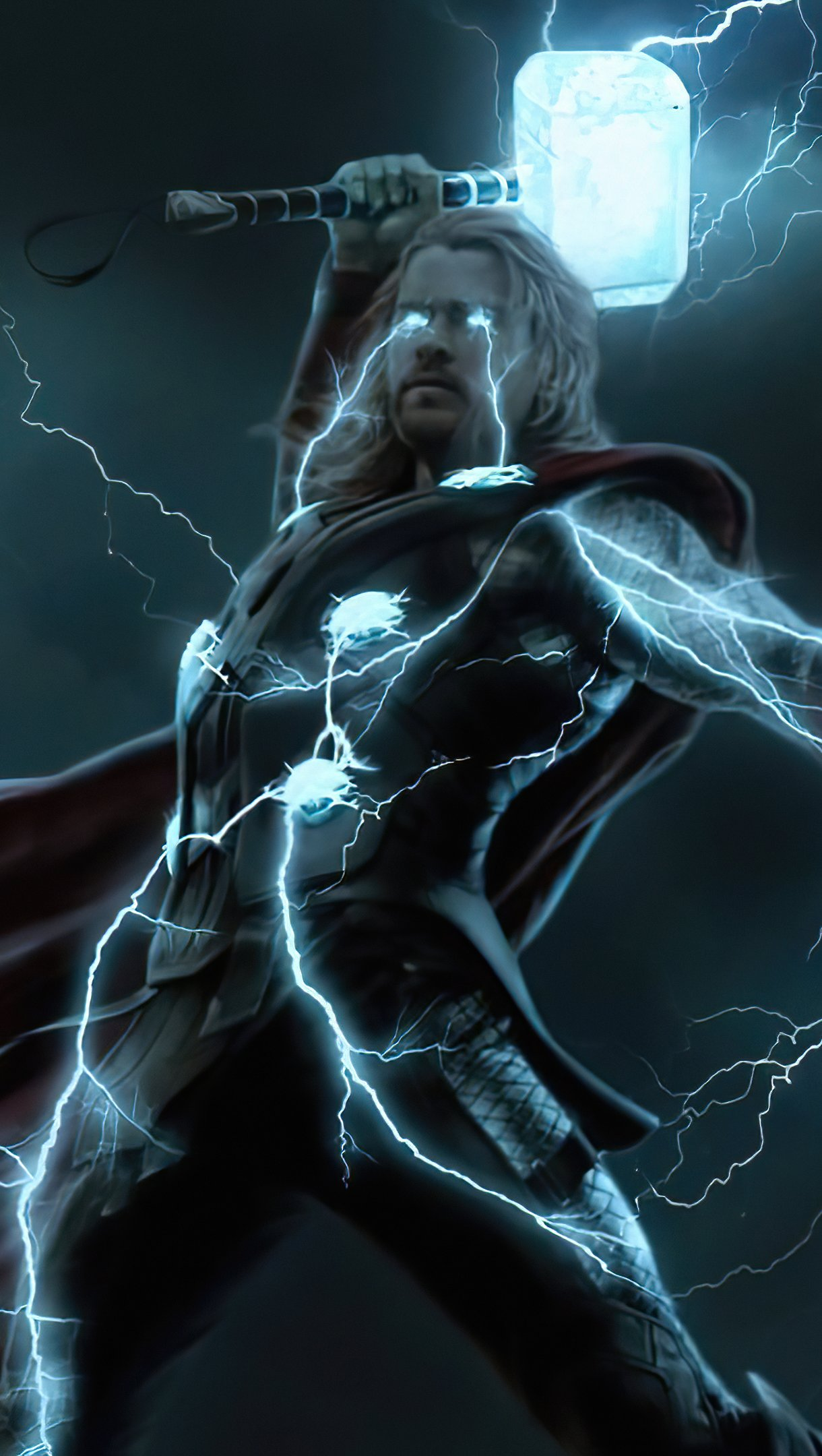Fondos de pantalla El rayo de Thor Vertical