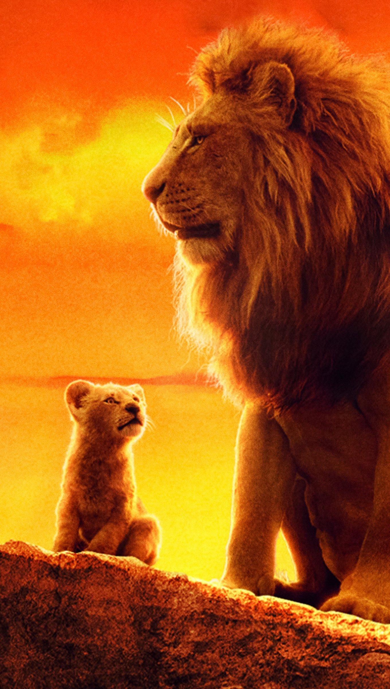 Fondos de pantalla El rey leon Vertical