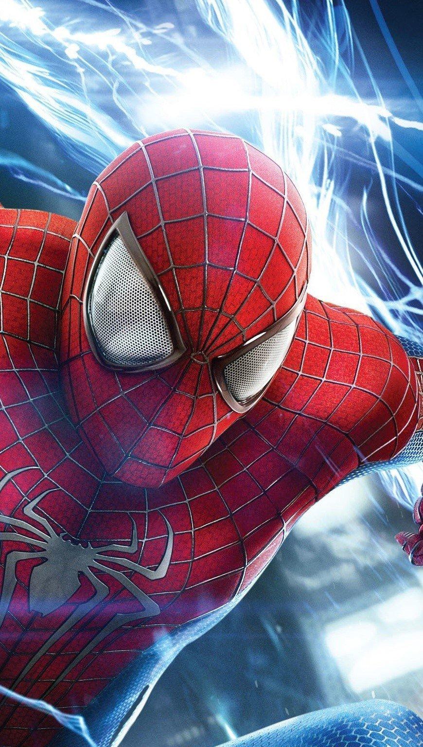 Fondos de pantalla El sorprendente hombre araña Vertical