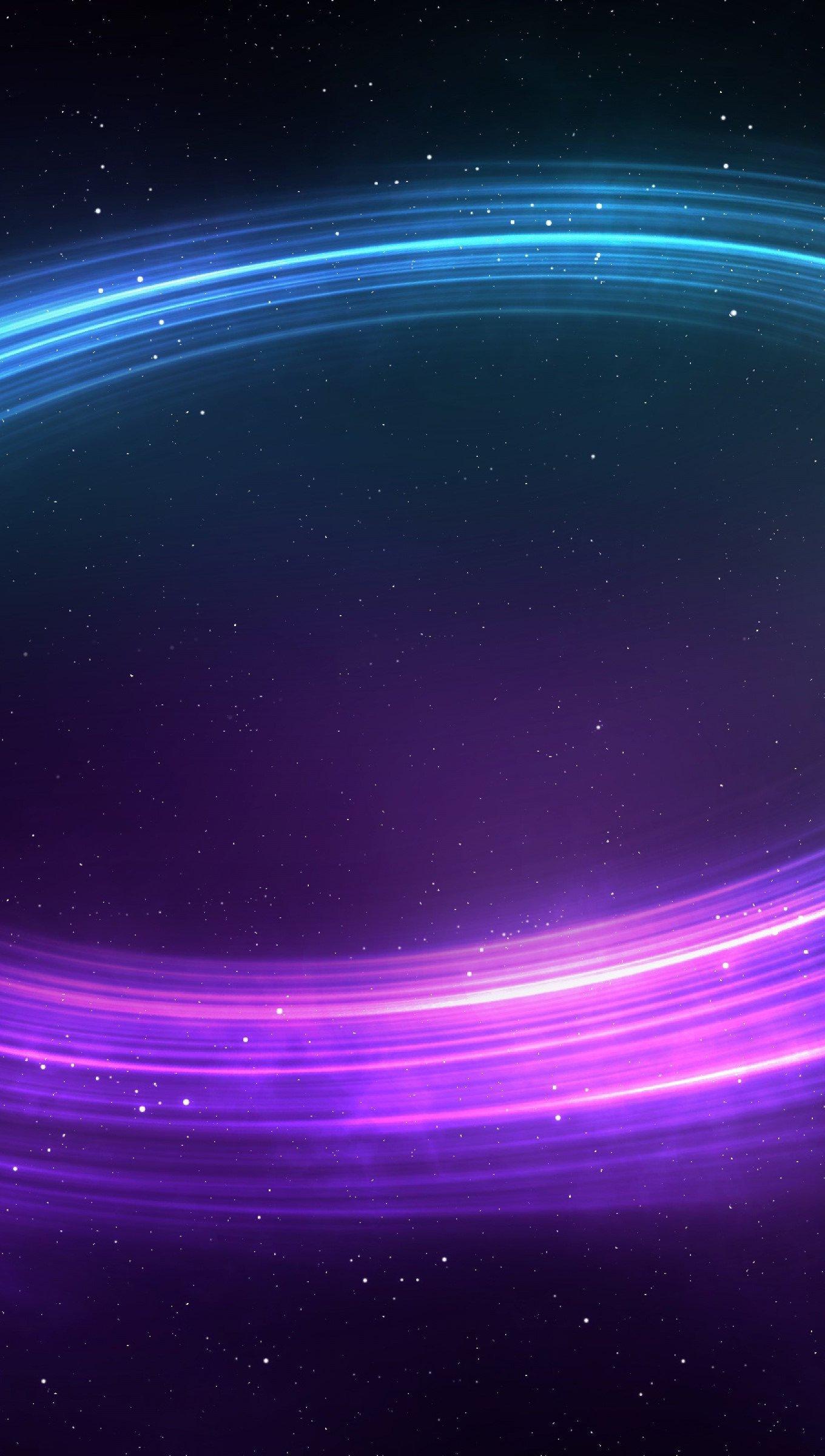 Fondos de pantalla Elipse de luces de colores Vertical