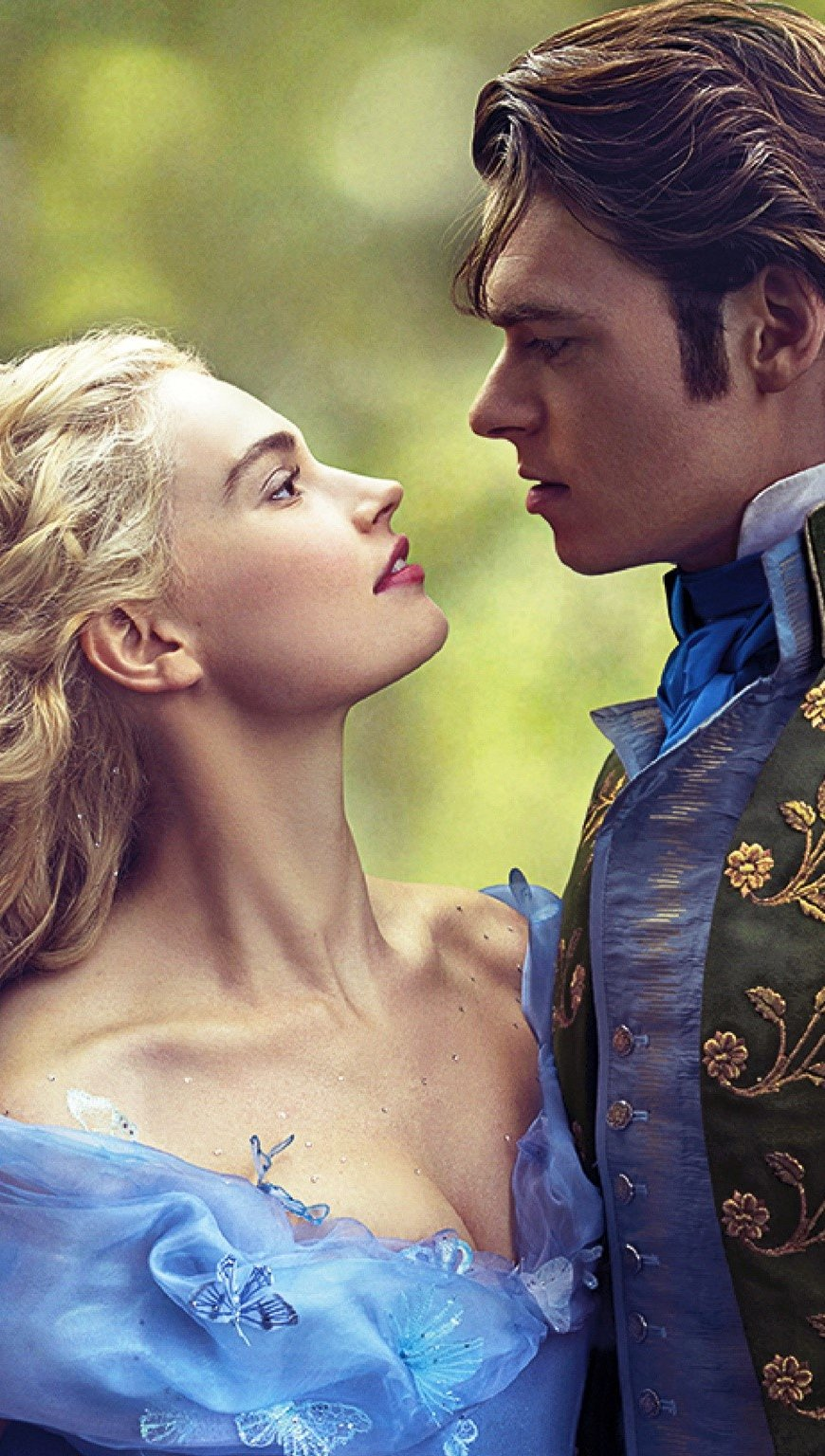 Wallpaper She and the prince in Cinderella Vertical