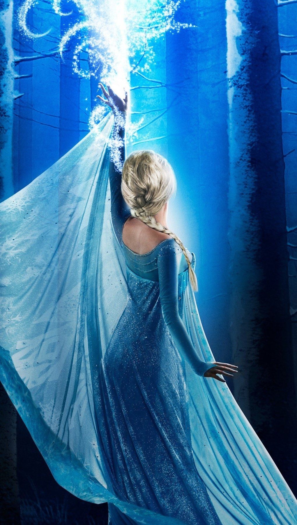 Wallpaper Elsa in Once upon a time Vertical