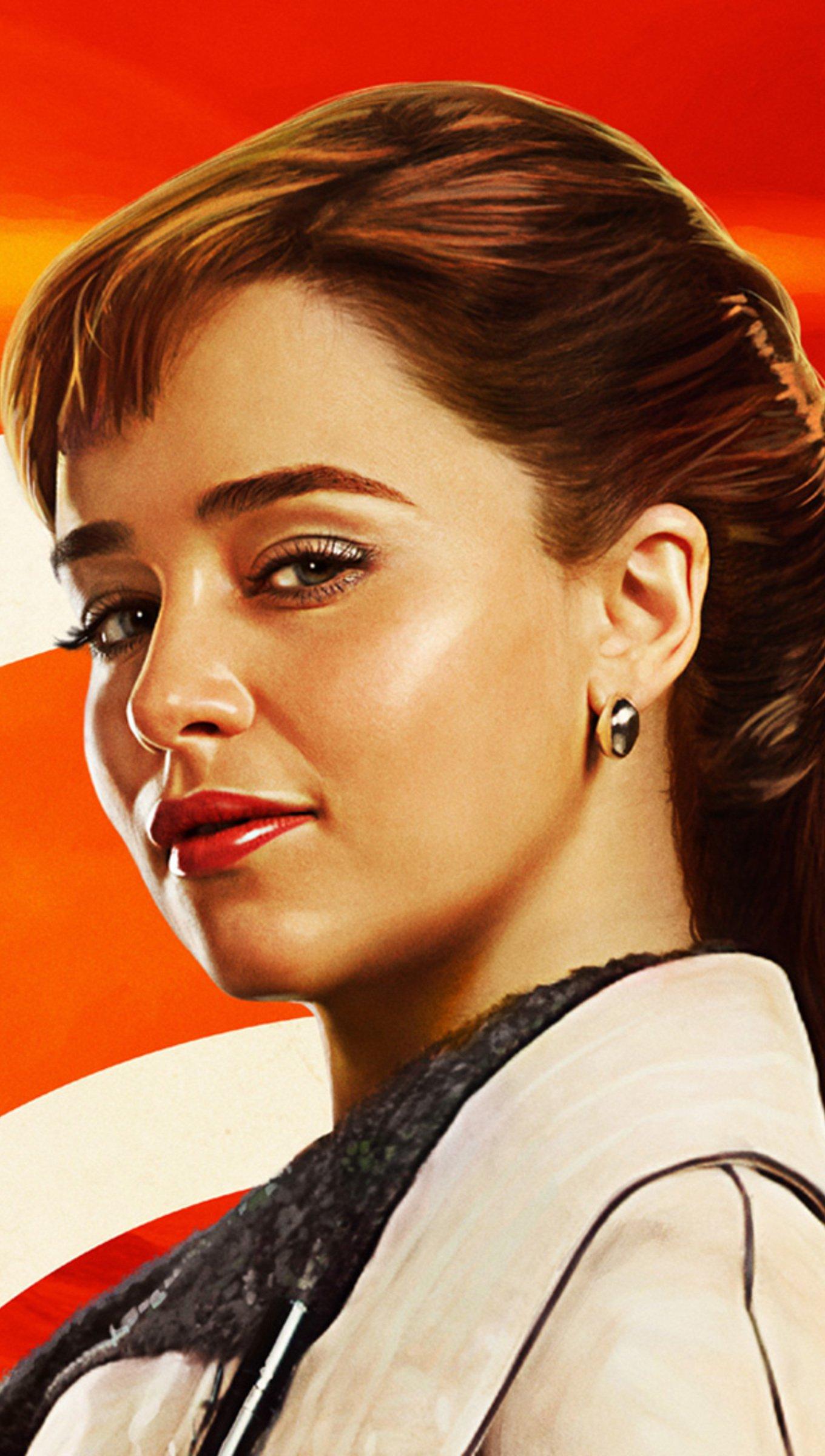 Fondos de pantalla Emilia Clarke como Qira Fanart Vertical