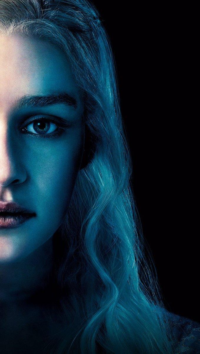 Wallpaper Emilia Clarke in Game of thrones Vertical