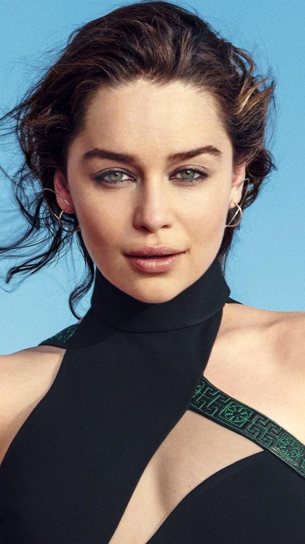 Fondos de pantalla Emilia Clarke morena Vertical