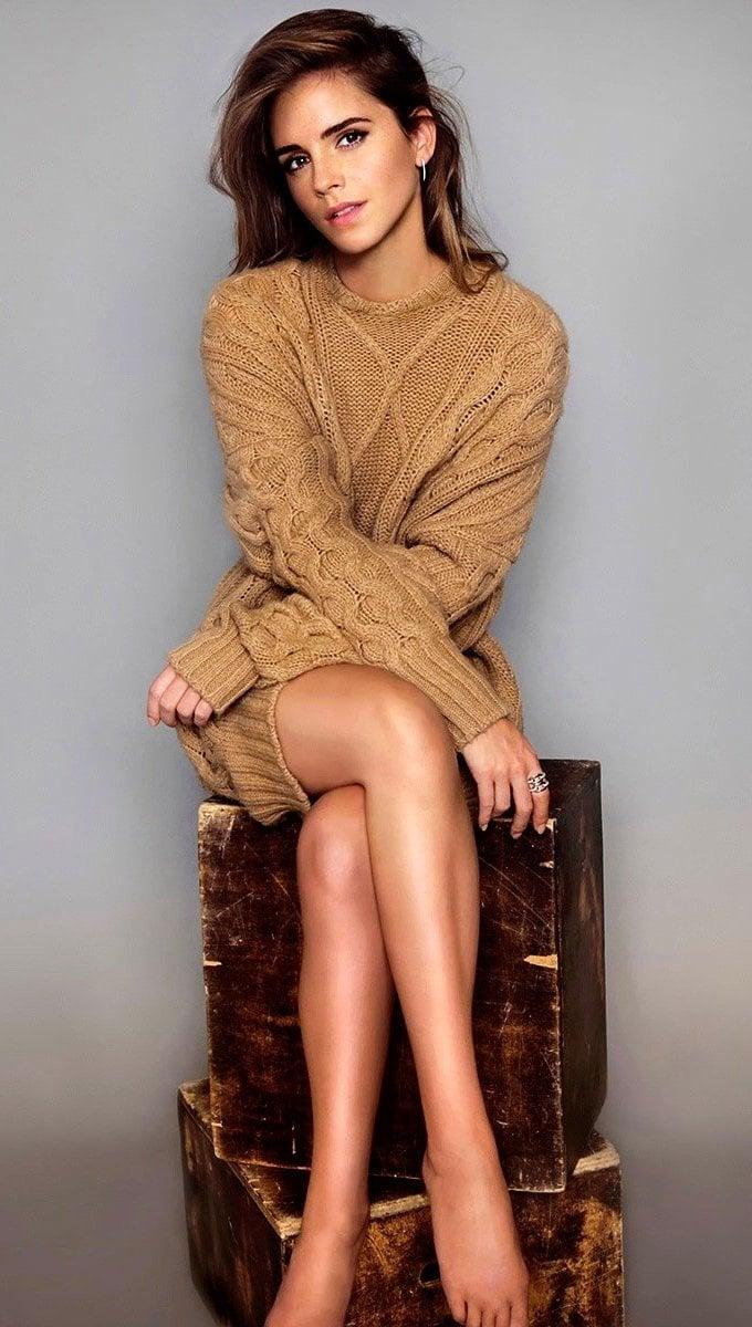 Wallpaper Emma Watson photoshoot Vertical