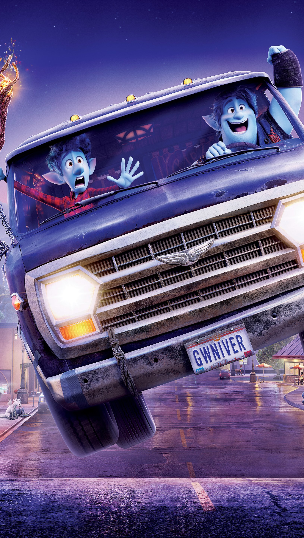 Fondos de pantalla Escena de Unidos Pixar Vertical
