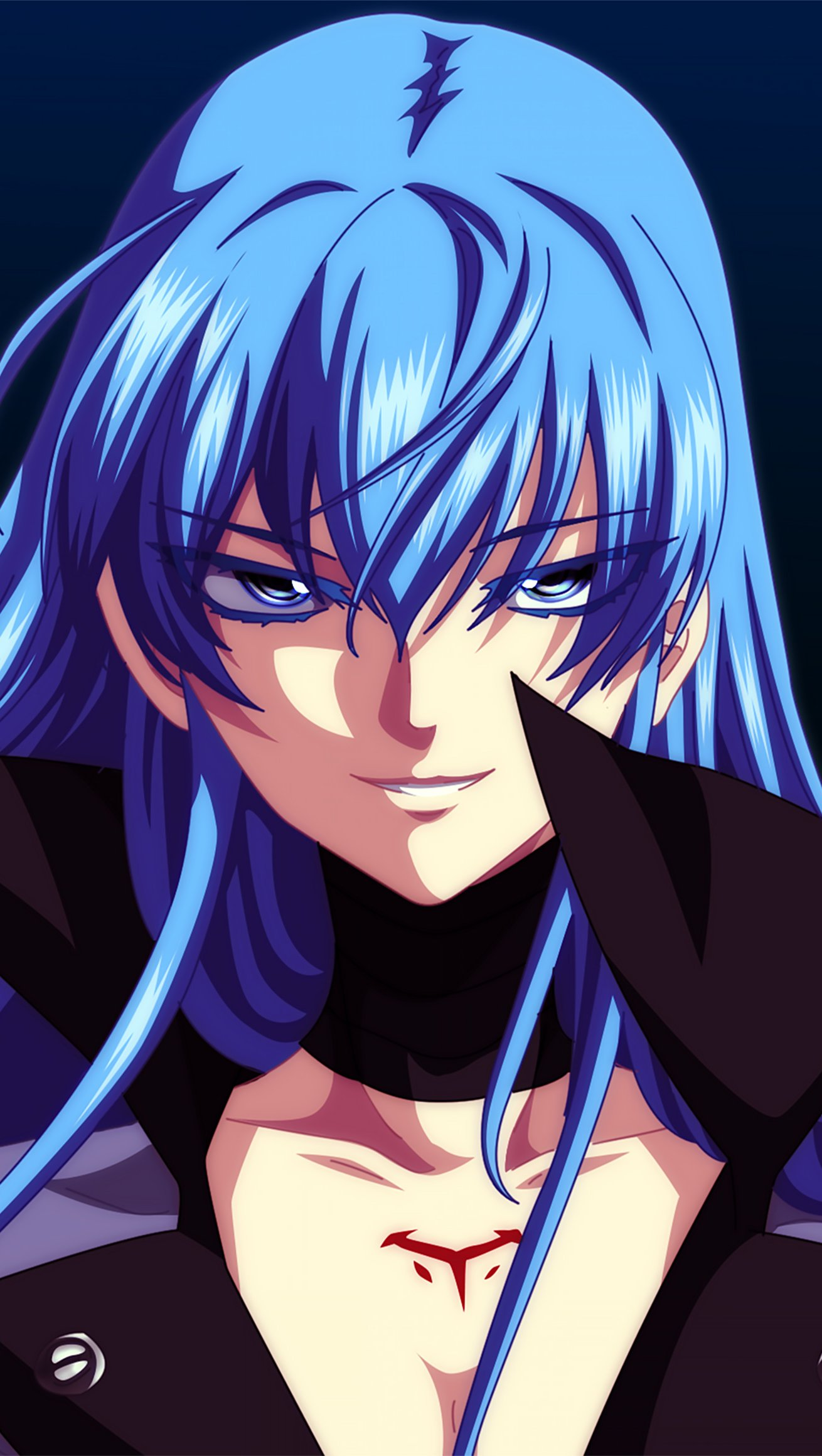Fondos de pantalla Anime Esdeath de Akame ga Kill! Vertical