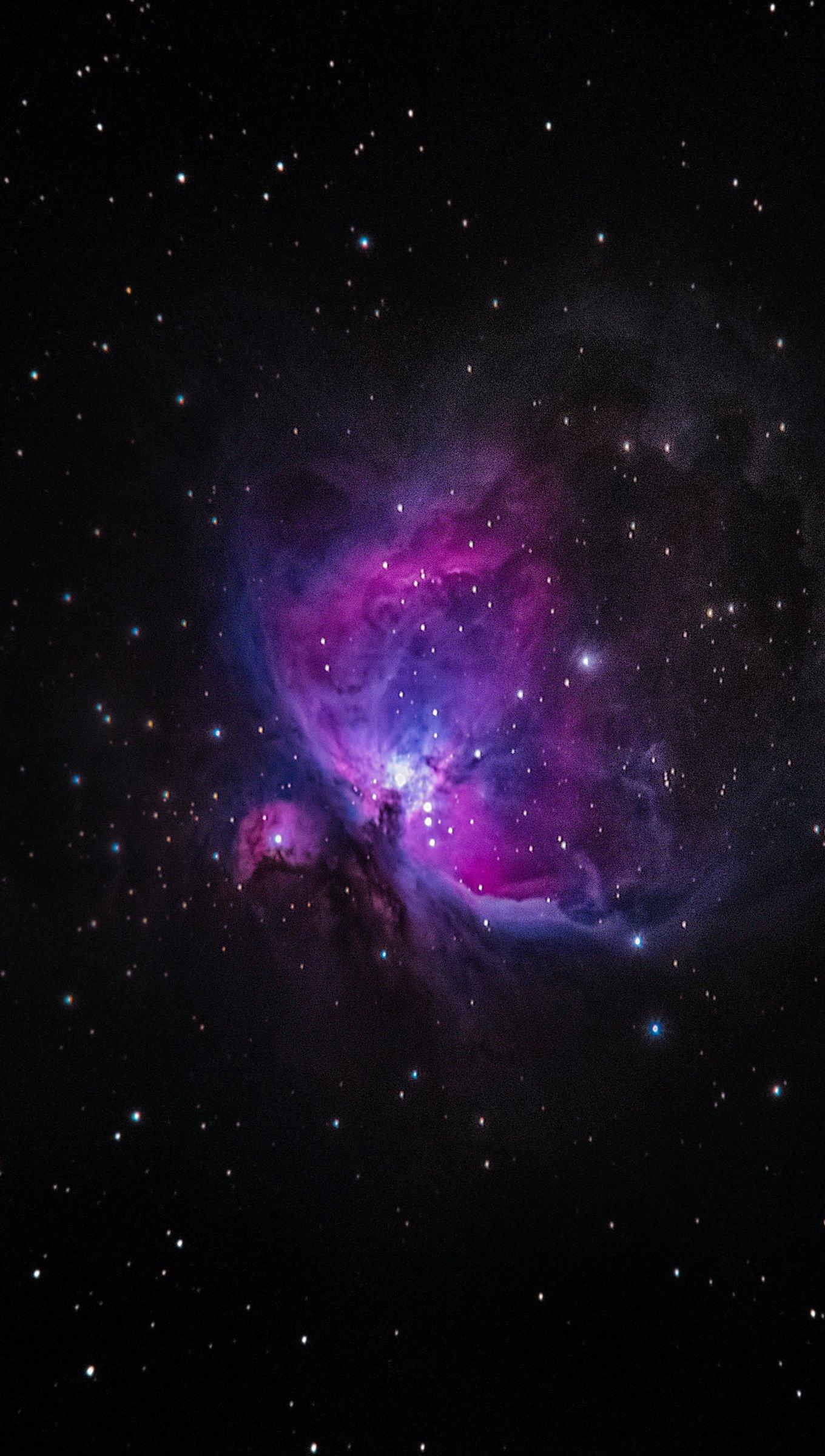 Fondos de pantalla Estrellas en la Galaxia Vertical