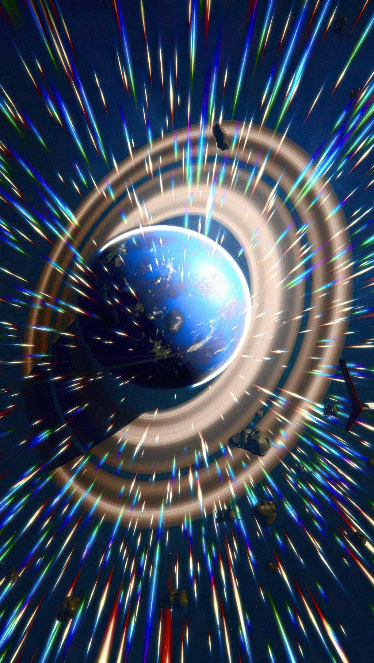 Fondos de pantalla Explorando planetas Vertical