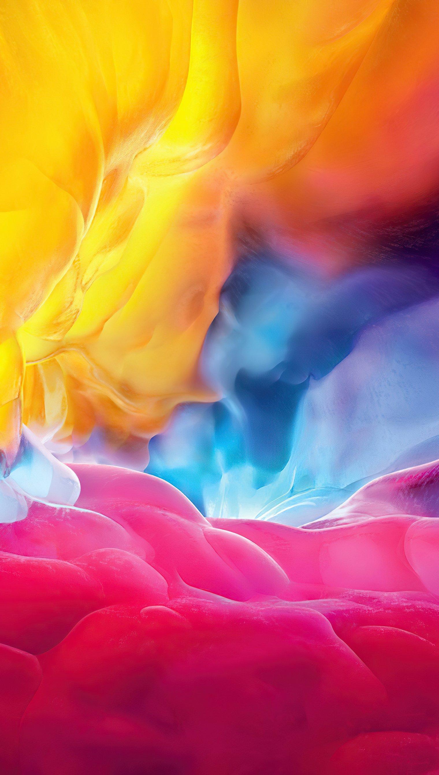 Fondos de pantalla Explosión de colores Vertical
