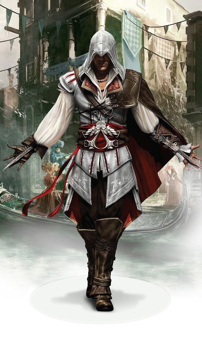 Wallpaper Ezio of Assassins Creed 2 Vertical