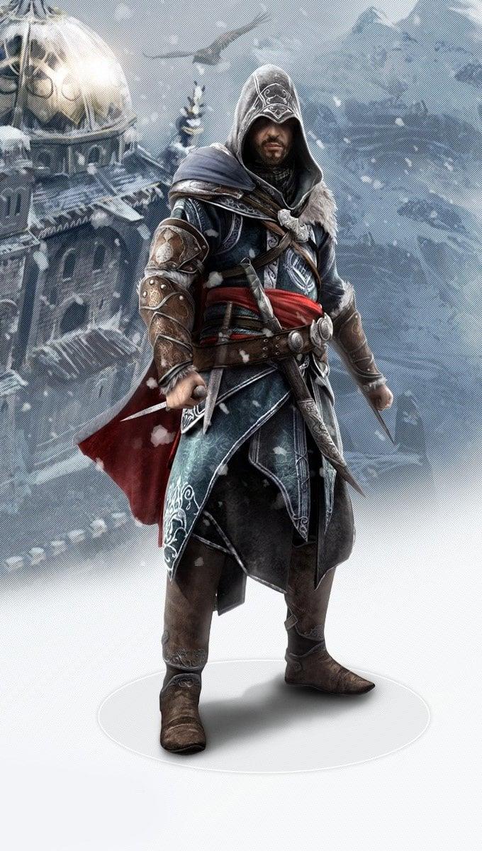 Wallpaper Ezio de Assassins Creed revelations Vertical