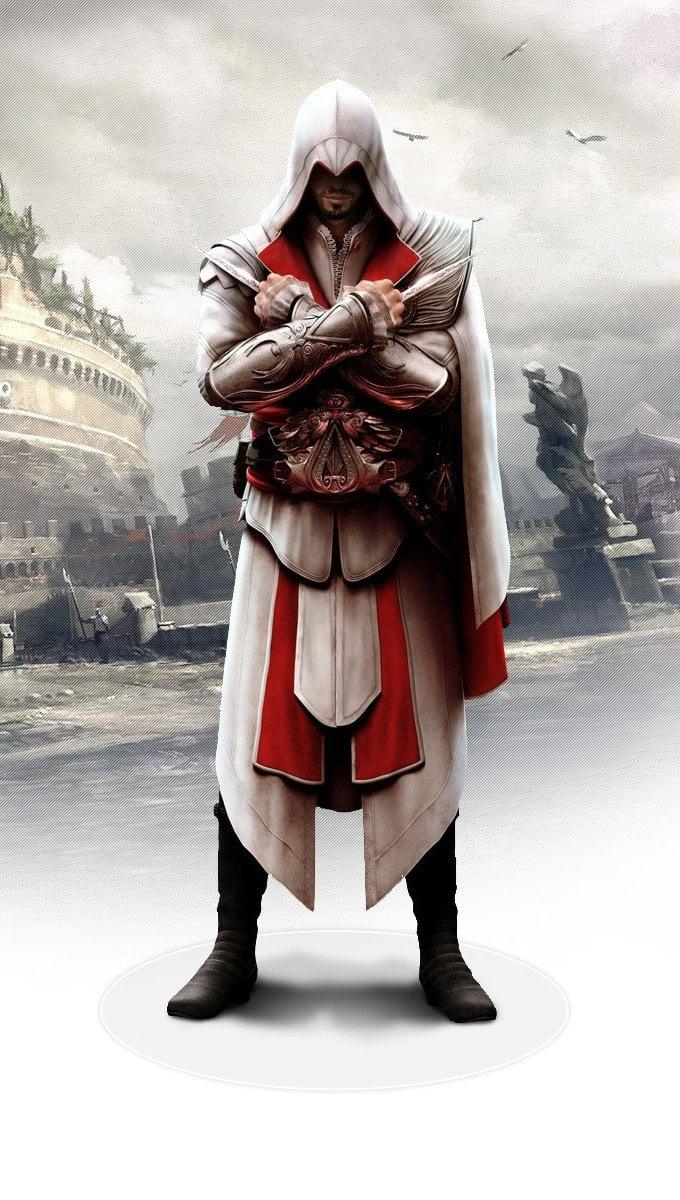 Wallpaper Ezio in Assasins Creed: The brotherhood Vertical