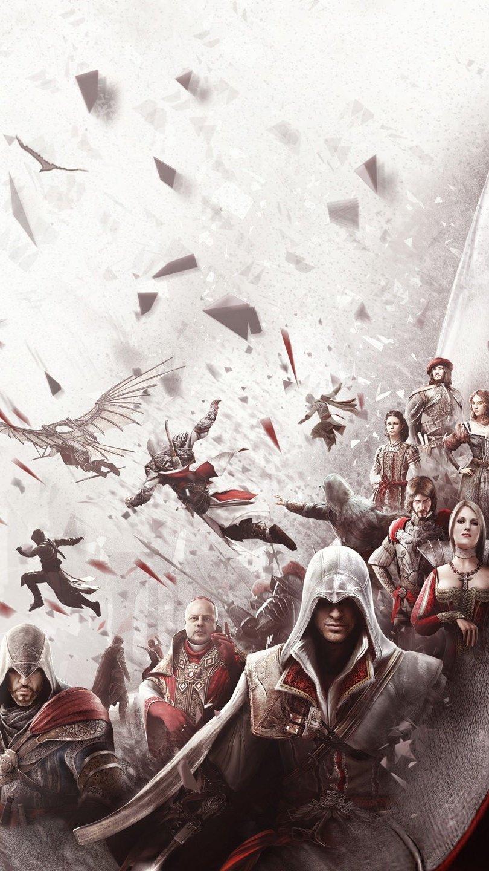 Fondos de pantalla Ezios de Assasins Creed Vertical