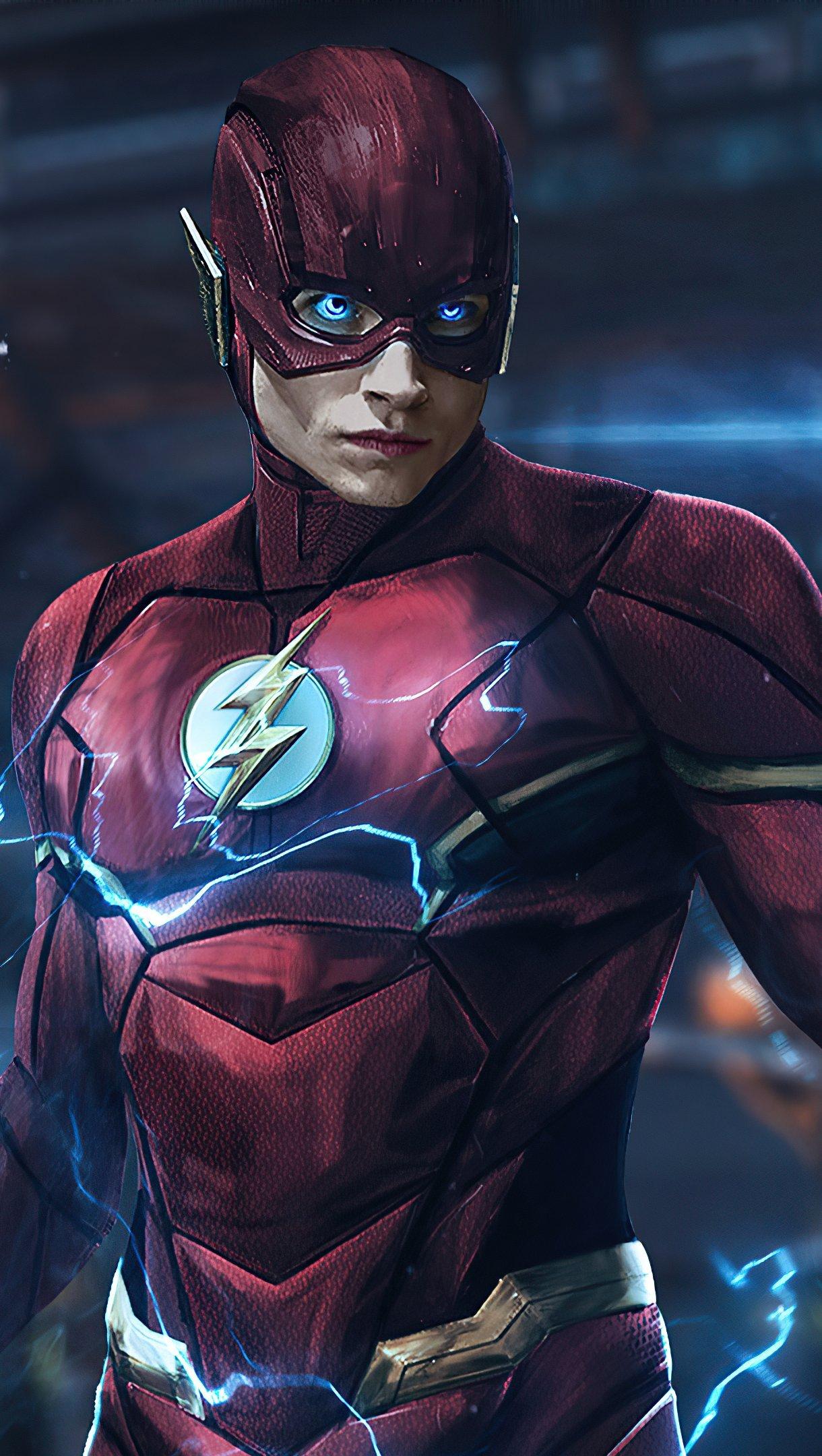 Fondos de pantalla Ezra Miller como Flash Vertical