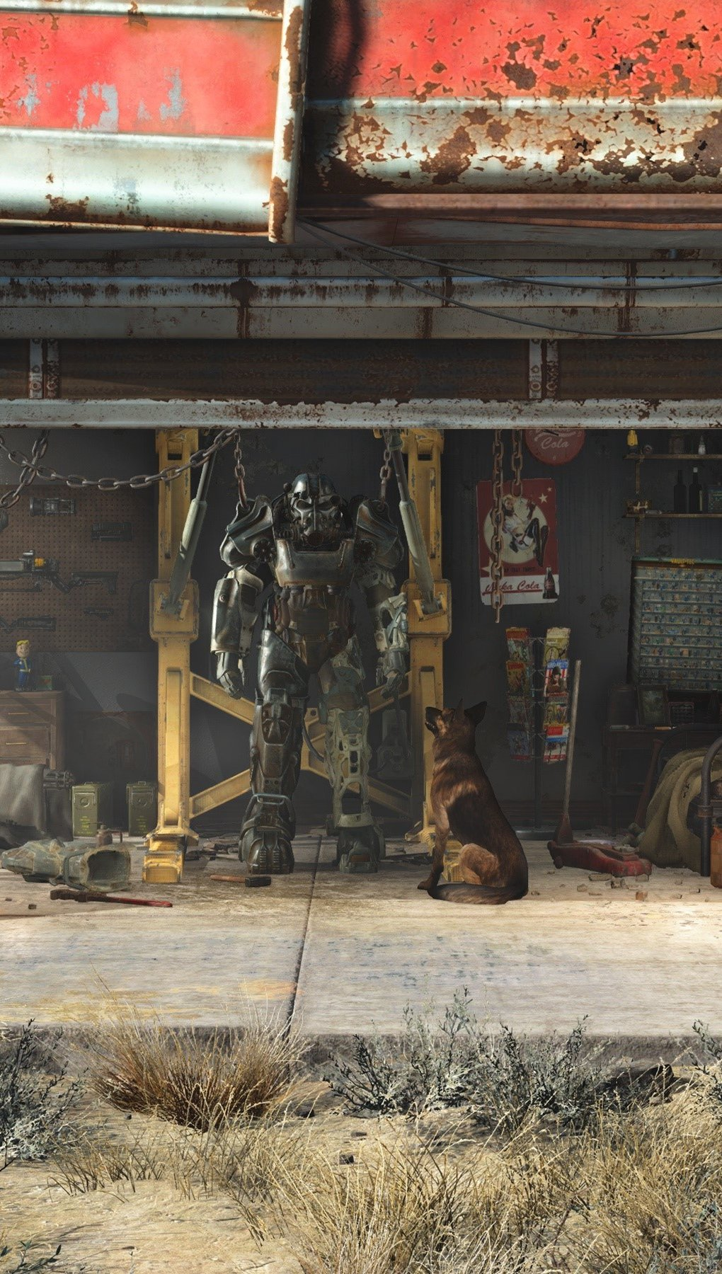 Wallpaper Fallout 4 Vertical