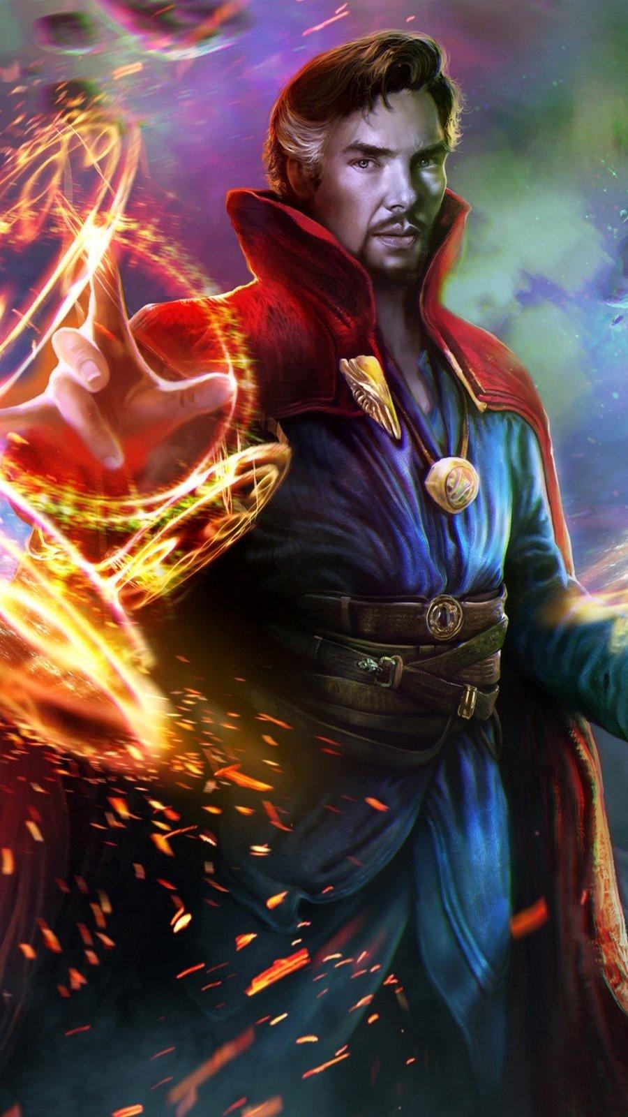 Fondos de pantalla Fan art de Doctor Strange Vertical